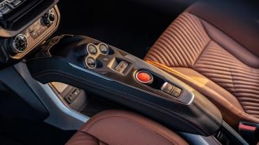 Alpine A110 Legende GT - centre console