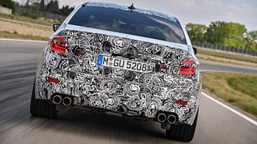 BMW M5 prototype - full rear