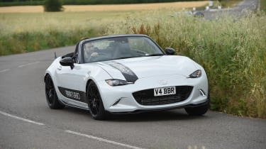 BBR Mazda MX-5 Turbo - front cornering