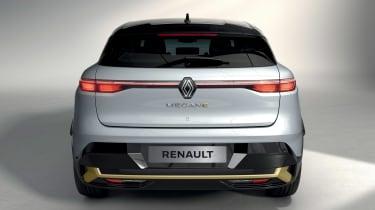 Renault Megane E-Tech Electric SUV - full rear studio