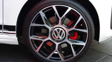 Volkswagen up! GTI Worthersee reveal  wheel