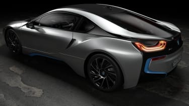BMW i8 Coupe - rear