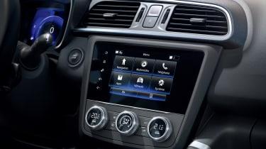 Renault Kadjar facelift - infotainment