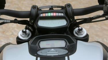 Ducati Diavel review - dash