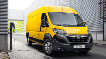 Vauxhall Movano-e - charging