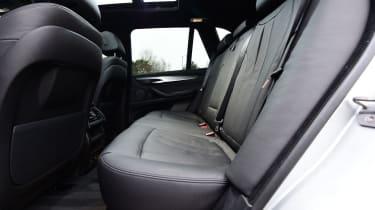 BMW X5 xDrive40e hybrid - rear seats