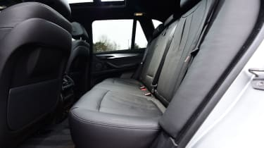 BMW X5 xDrive40e hybrid - rear seats