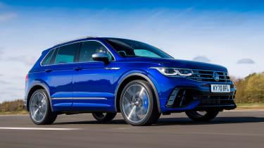 Volkswagen Tigun R - front tracking