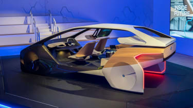 BMW HoloActive touch concept - rear