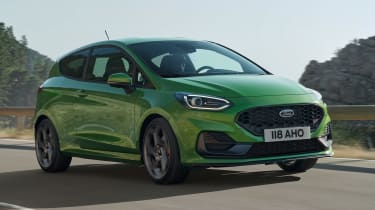 Ford Fiesta ST facelift - front
