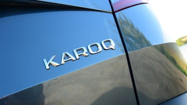 Skoda Karoq - badge
