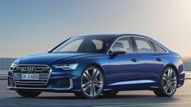 Audi S6 mild-hybrid - front static