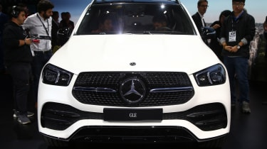 New Mercedes GLE front grille
