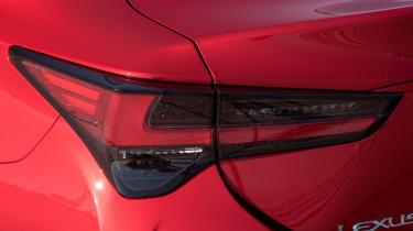 Lexus RC 300h F-Sport rear light