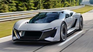 Audi PB18 e-tron concept - front