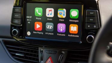 New Hyundai i30 - Apple CarPlay