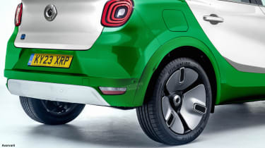 Smart SUV - rear detail (watermarked)