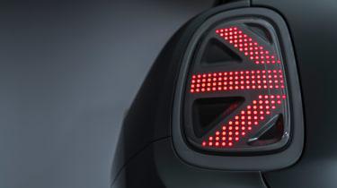 MINI Electric concept - rear light