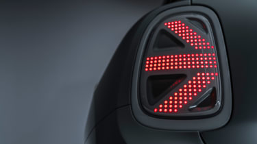 MINI Electric concept - rear light