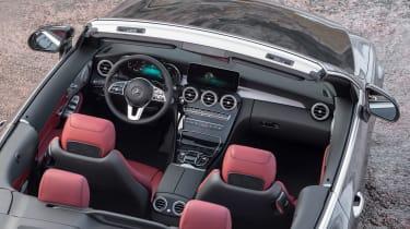 New Mercedes C-Class Cabrio - interior