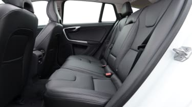 The Volvo V60 has good rear head and leg room.