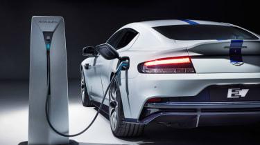 Aston Martin Rapide E - plugged-in