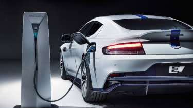 Aston Martin Rapide E - plugged-in