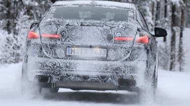 BMW 2 Series Gran Coupe spies - winter rear