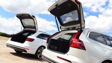 Volvo V60 vs Audi A4 Avant - boot