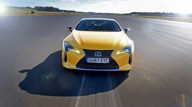 Lexus LC - full front
