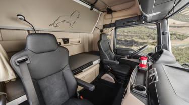 MAN truck seats