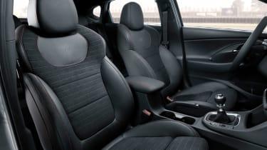 Hyundai i30 N Fastback - front seats