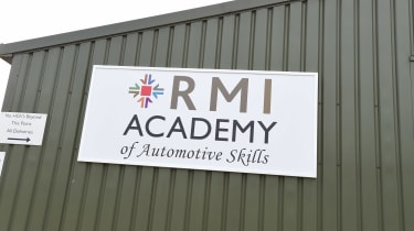 MOT test feature - RMI sign