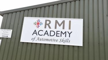 MOT test feature - RMI sign