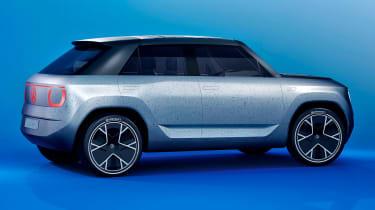 Volkswagen ID Life - rear blue