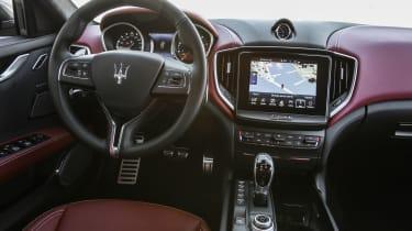Maserati Ghibli 2016 interior