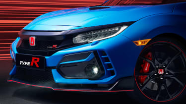 Honda Civic Type R GT - front detail