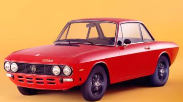 Lancia Fulvia red