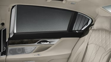 New 2015 BMW 7-Series rear window
