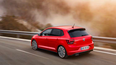 New Volkswagen Polo GTI - rear tracking