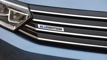 Volkswagen Passat - BlueMotion badge