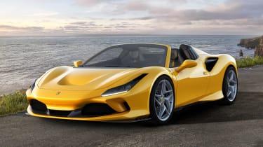 Ferrari F8 Spider - front