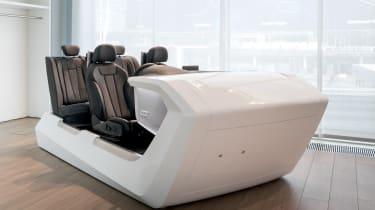 Audi Virtual Dashboard - demo model seats