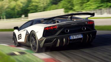 Lamborghini Aventador SVJ 63 - rear