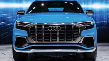 Audi Q8 concept - show full front