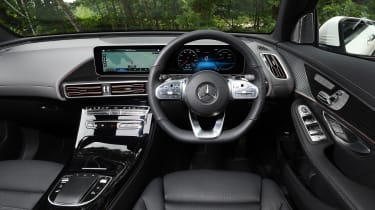 Mercedes EQC - dash