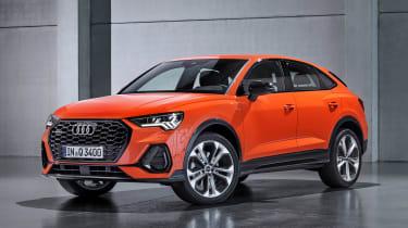 Audi Q3 Sportback - orange front
