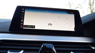 BMW 5 Series - sat-nav