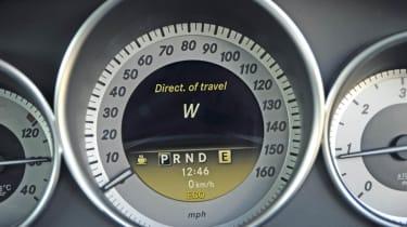 Mercedes C220 CDI Sport dials