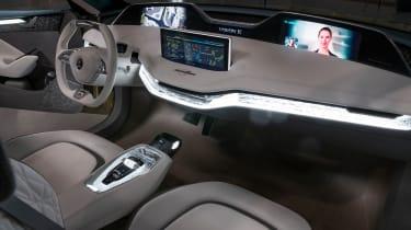 Skoda Vision E concept - interior